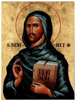icon of St Benedict